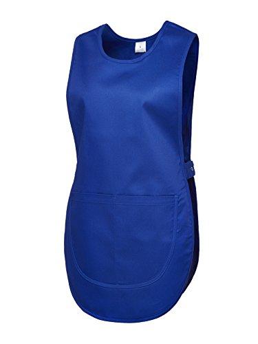 Damen Premium Schürze, Arbeitskleidung, Marineblau, Größe S