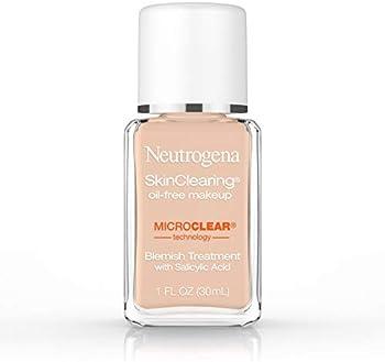 Neutrogena SkinClearing Oil-Free Acne Liquid Foundation 1 Fl Oz