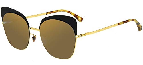 Mykita Gafas de Sol ANNELI Shiny Gold Matte Black/Brillant Grey 21/21/0 unisex