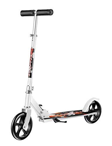 YF-Mirror Scooter para niños de 8 años en adelante, niños, niños, Adolescentes - Ruedas Grandes de 20 mm, manillares Plegables y Ajustables, liviano, para pasajeros de hasta 100 kg