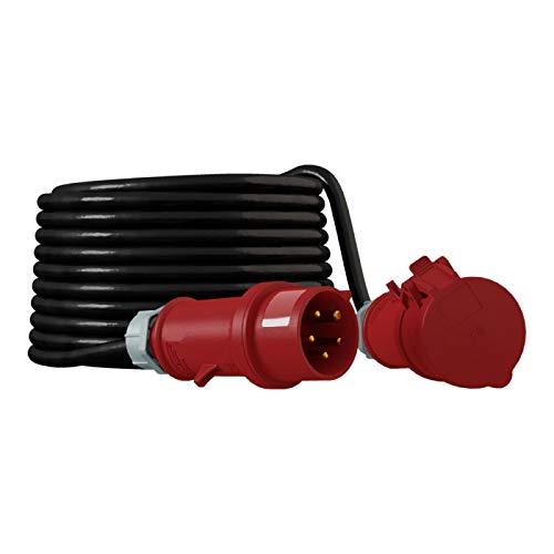 CEE Verlängerungskabel Kabel 400V 32A IP44 Starkstromkabel 5x4mm2 Doktorvolt® 50m