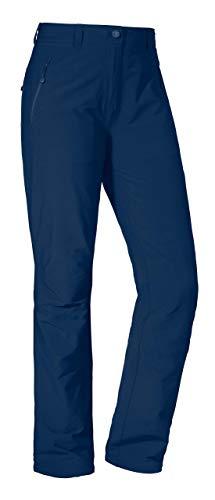 Schöffel Engelat dames outdoorbroek, duurzame wandelbroek voor vrouwen, waterafstotende damesbroek met sportieve snit