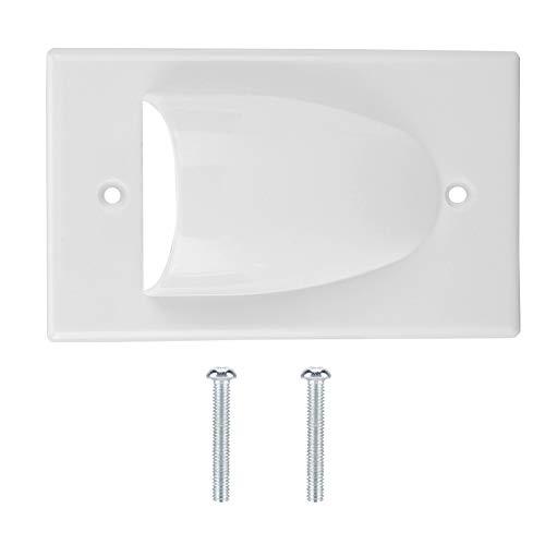 Placa Frontal, Panel de Pared de Material ignífugo ABS, cableado Flexible para el hogar