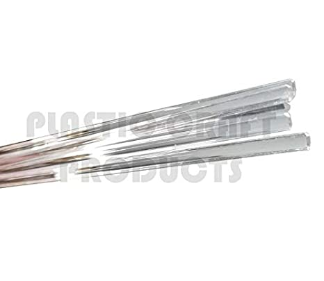 2 pcs. Acrylic Extruded Half Round Rod.625 Length 5//8 Diameter x 6 Ft Clear