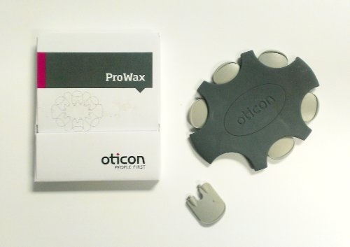 5-Packs of Oticon ProWax Filters