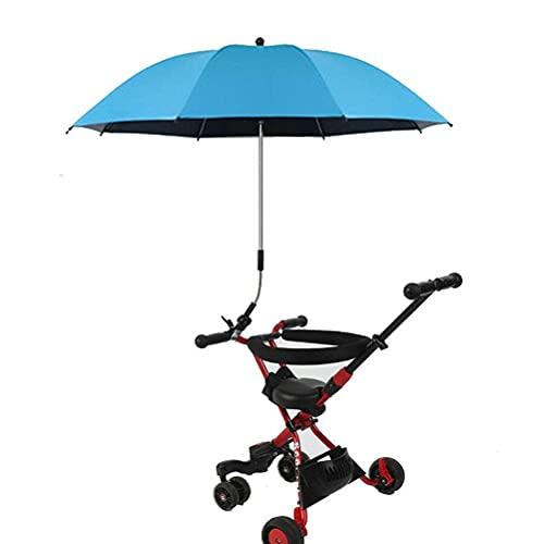 bottl Parasol grande de tela Oxford, con protección UV, para cochecito de bebé, con abrazadera de fijación ajustable