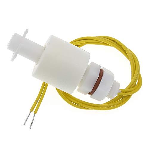YEZIO Módulo de Sensor electrónico Agua líquida del Sensor de Nivel Horizontal Interruptor de Flotador de plástico Controlador de Nivel Interruptor de Flotador de Bola