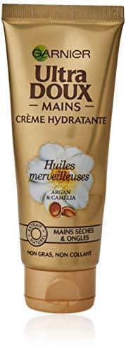 Garnier Ultra doux Crème pour Mains Huile Merveilleuse Peaux Sèches 75 ml