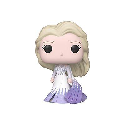 Funko Pop! Disney: Frozen 2 - Elsa (Epilogue Dress), Multicolor, 3.75 inches, (Model: 46582)