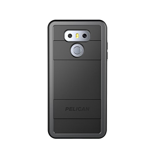 Pelican Protector LG G6 Case - Black/Light Grey
