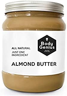Body Genius Almond Butter (Manteca de almendra) - 1 kg