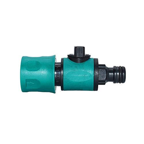 HEQIE-YONGP Giardinaggio Irrigazione Strumento Water Fitting 6pcs Car Wash Tubo Rubinetto di irrigazione Valvola connettore rapido valvola dell Acqua Gru Garden Hose Tap Adapter abbeveratoi