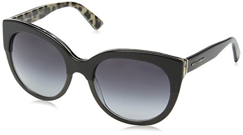 Dolce & Gabbana Sonnenbrille 4259 Top Black On Leo, 56