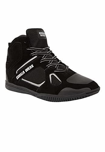 GORILLA WEAR Troy High Tops - Zapatillas de deporte, color Gris, talla 47 EU