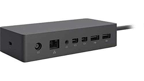 Microsoft Surface Dock Station (2x HD Video ports, Gigabit Ethernet port, 4 x USB 3.0 ports, Audio port)