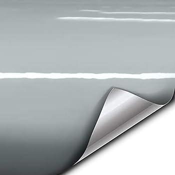 VVIVID+ Gloss Elephant Grey Nardo Gray Vinyl Car Wrap Film DIY Easy to Install No-Mess Decal  10ft x 5ft