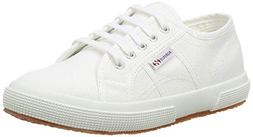 Superga 2750-Jcot Classic, Sneaker Unisex - Bambini, Bianco (901), 33