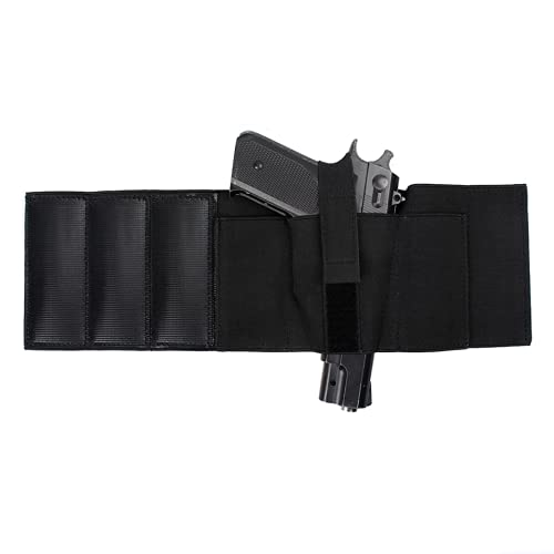 Gexgune Nylon Holster Black Magazine Bag Tobillo Pierna Oculta Llevar Glock 19 26 27 42 43 Pistola Ruger Sig Tactical Holster