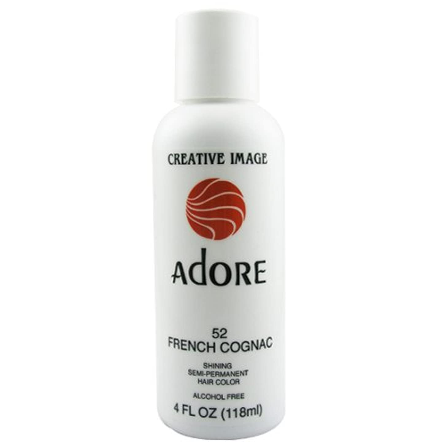バブル一人でぞっとするようなAdore Creative Image Hair Color #52 French Cognac by Adore
