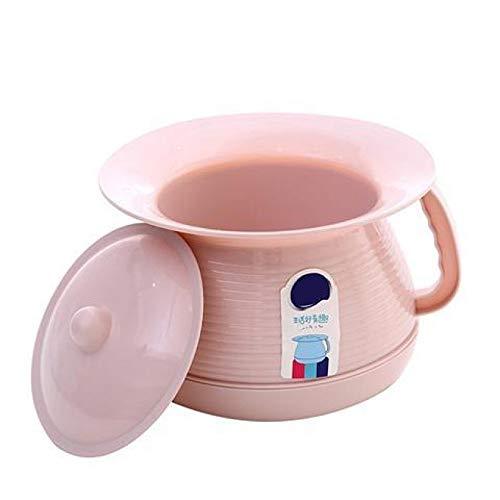 QMJYP Eimer mit Deckel Ideale Camping-Toilette, Töpfchen, Haushalts-Kunststoff-Urinal für Erwachsene/Senioren/Kinder-Kunststoff-Toilette