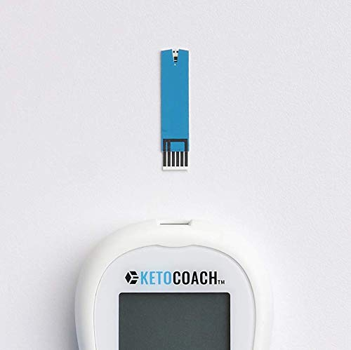 New 2019 KetoCoach Blood Ketone Meter Starter Kit | Affordably and Accurately Test if You're in Ketosis On The Ketogenic Diet by Measuring Blood Ketones