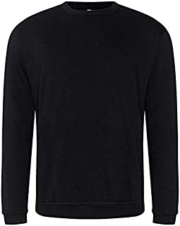 Super Lemon Mens Classic Jumper Sweatshirt Long Sleeve Plain Top Casual Work Sports Tough for Gardening and Building Workw...