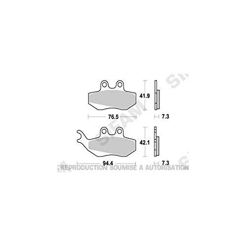Yamaha 50tzr-04/11/50DT X-03/15-plaquettes di freno avant-3801951