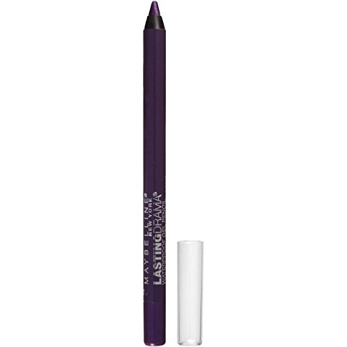Maybelline New York Eyestudio Lasting Drama Waterproof Gel Pencil, Polished Amethyst, 0.038 oz.