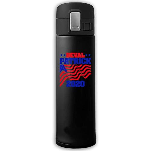 Top Groothandel Deval Patrick 2020 Travel Mok RVS Thermische Mok Vacuüm Flask Lekvrije Koffie Mok Met BPA Gratis Gemakkelijk Schone Deksel Houdt Koud Of Heet