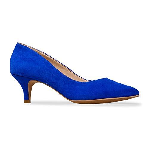 Van Dal ,  Damen Durchgängies Plateau Sandalen mit Keilabsatz , Blau - Ultramarine Suede - Größe: EU 37