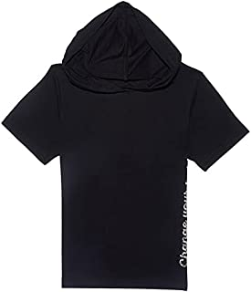 Giggles Short Sleeves Basic Hoodie for Boys