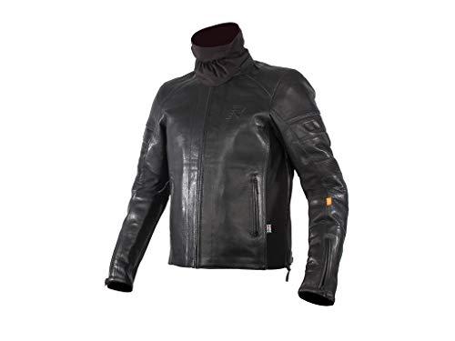 Rukka Motorradjacke Aramos Corium + Platinum Leder 3 Lagen Laminat Lederjacke, 62