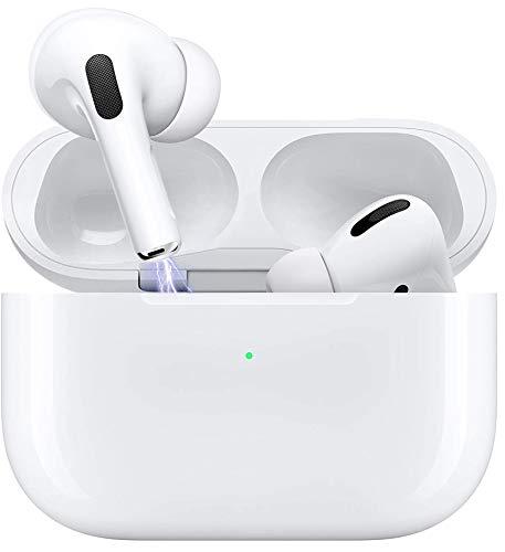 Auriculares Bluetooth 5.0, Auriculares inalámbricos, Control táctil, micrófono Incorporado y Caja de Carga, reducción de Ruido estéreo 3D HD, Adecuado para Android/iPhone/Apple AirPods Pro/Samsung