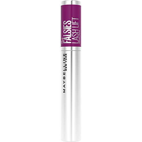 Maybelline New York Falsies Lash Lift Mascara - schwarze Wimperntusche für extra Volumen und Definition, mit Falsche-Wimpern-Effekt, langanhaltende Formel, 01 Black, 9 ml