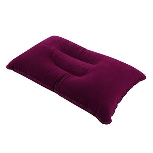 YKSO Portátil plegable viaje al aire libre sueño almohada aire inflable cojín descanso cómodo almohadas para dormir viaje accesorios