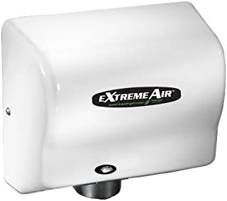 American Dryer ExtremeAir Automatic Hand Dryer with Steel White Cover [GXT9-M]
