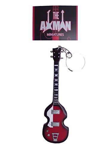 Paul McCartney (Beatles): Hofner Viool Bass - Gitaar Sleutelhanger (VK verkoper)