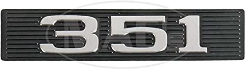 MACs Auto Parts 42-77564 Hood Emblem Insert,'351', Fairlane, Ranchero, Torino,