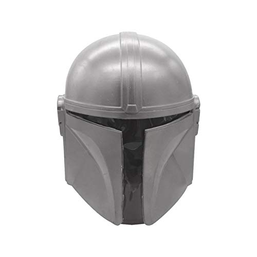 Mscara mandaloriana de ltex, casco completo, accesorios de disfraz, para hombre, adulto, fiesta, disfraces, mercanca