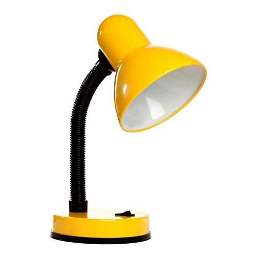 Luminaria de Mesa Abajur Articulavel Flexivel Escritorio Sala Trabalho Iluminaçao Leitura Estudos Luz Copa