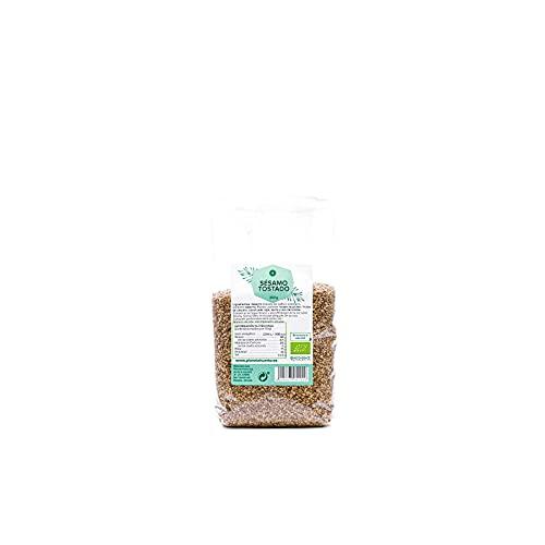 Planeta Huerto | Semillas de Sésamo Tostado Ecológico - 250 gr | Alimentos Orgánicos, Biólogicos, Naturales | De Alto Valor Nutricional Para Recetas de Cocina Saludable, Desayunos o Meriendas