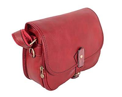Katana Sac besace en cuir réf 32587 (3 couleurs disponible) (rouge)