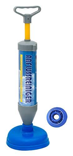 Lantelme Saugglocke Pumpe blau umweltfreundlich Abflussreinigung für Toilette Waschbecken Badewanne Dusche ohne Chemie 8085