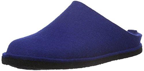Haflinger HAFLINGER Unisex-Erwachsene Flair Soft Pantoffeln, Blau (Pazifik 71), 44