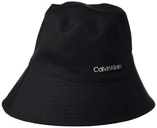 Calvin Klein Jeans Damen Oversized REV Bucket HAT Schlapphut, Black Mono, Einheitsgröße