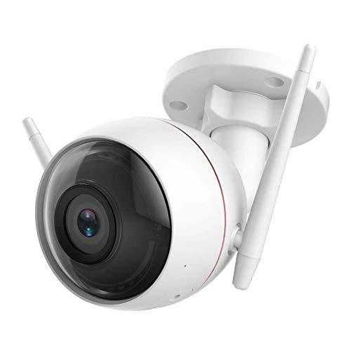 Outdoor-Überwachungskamera-Überwachungs 1080P WiFi IP-Kamera mit Nachtsicht-Stroboskop und Sirene Alarm, Zwei-Wege-Audio, Unterstützung 2.4G WiFi/Ethernet Intelligente Kamera-Diebstahlsicherung