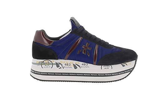 PREMIATA Zapato alta modelo BETH5051 negro/azul Azul Size: 40 EU
