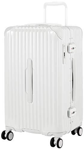 [カーゴ] スーツケース グッドサイズ スリムフレーム 多機能モデル CAT68SSR 保証付 60L 65 cm 5.1kg グロスホワイト