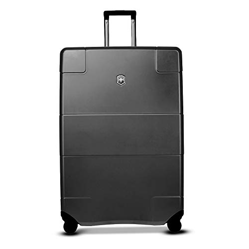 Victorinox Lexicon Hardside Expandable Spinner Luggage, Black, Checked-Extra Large (31')