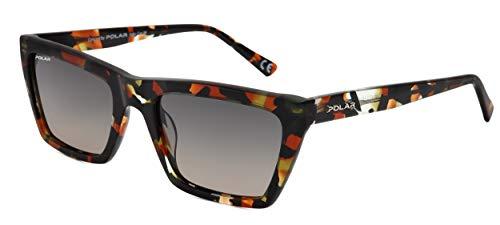 Polar Gafas de sol Ingwer para hombre, polarizadas, color marrón/negro